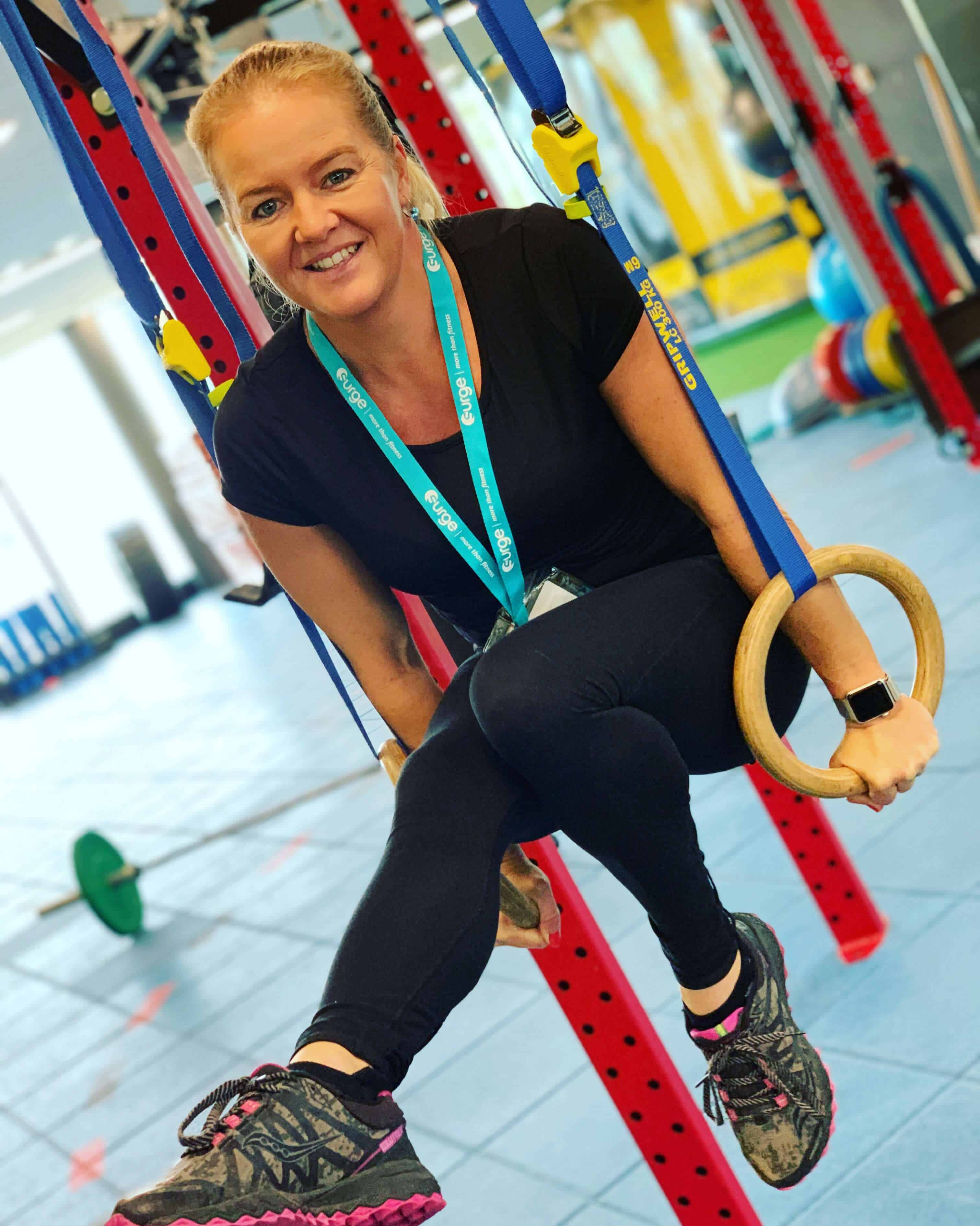 PT Shannon Ducker for fitness classes perth
